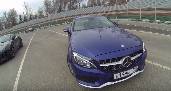 Mercedes Benz C-Coupe 2016