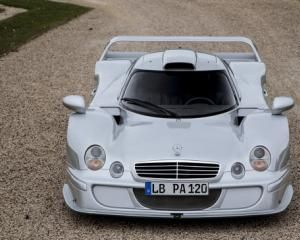 Самый редкий Mercedes-Benz CLK LM Straßenversion