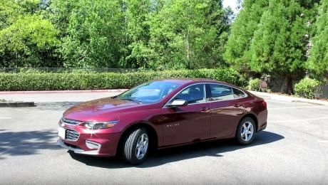 Новый Chevrolet Malibu 2016 1.5 turbo