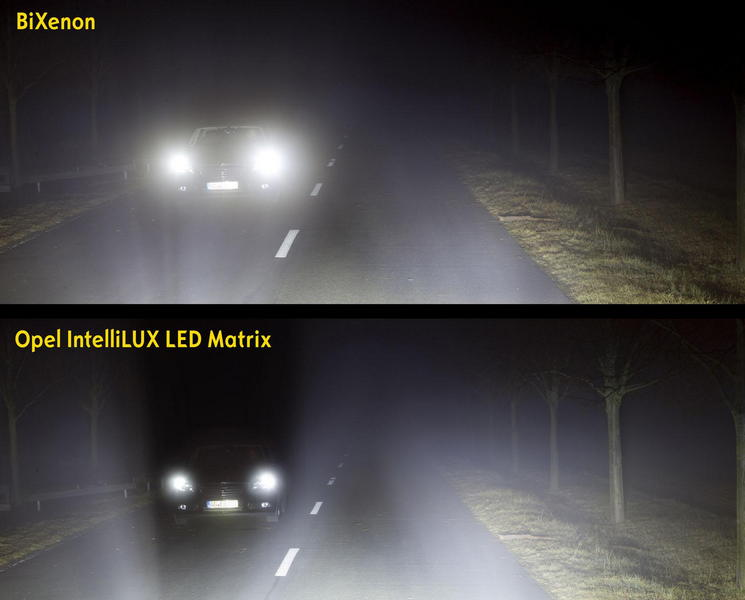Opel Astra IntelliLux LED Matrix